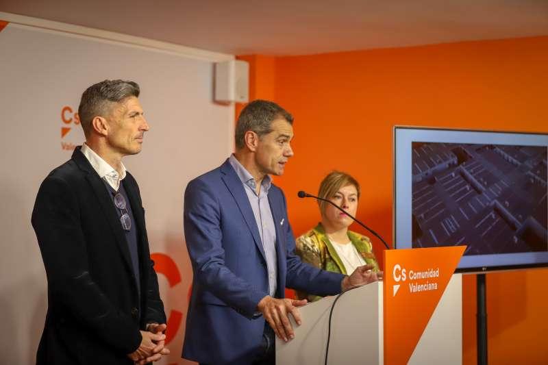 El candidato de Ciudadanos a la Presidencia de la Generalitat, Toni Cantó.
