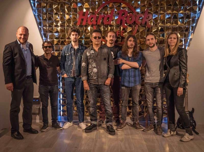 Presentación de Hard Rock València.