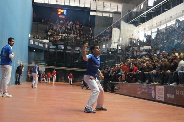 Adrián de Quart y Pasqual en un momento de la final del año anterior. FOTO: DIVAL
