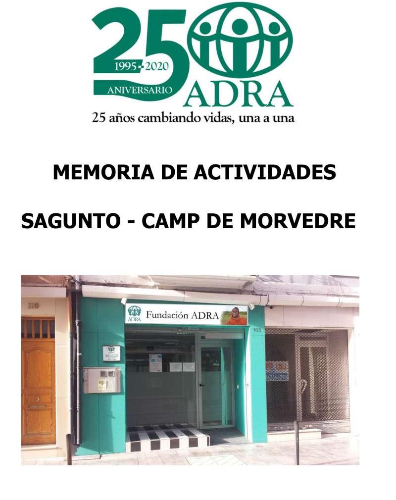 Memoria de ADRA por su 25 aniversario.