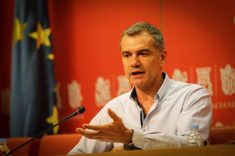 El portavoz de Ciudadanos en Les Corts, Toni Cantó. EPDA