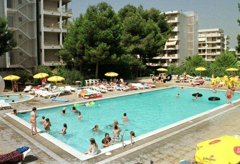Imagen de la piscina de un hotel. EFE/Archivo