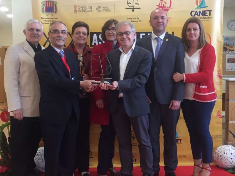 El teatre amateur premia en Canet la trajectòria de l?Institut Valencià de Cultura