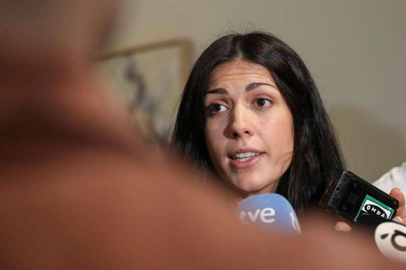 La síndica de Unides Podem, Naiara Davó, es una de las trece personas que han presentado su precandidatura a dirigir Podem.EFE