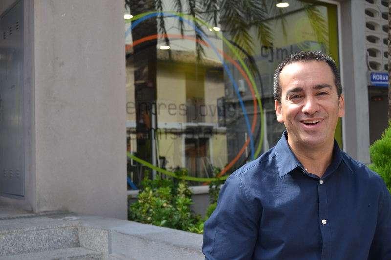 Portaveu i regidor de Compromís per Mislata, Javier Gil. EPDA