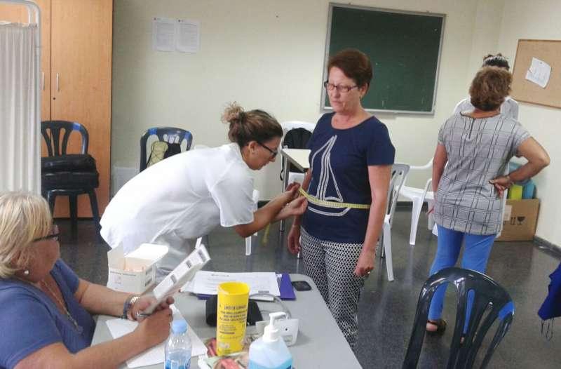 Momento de una de las jornadas de la Ruta de la Salud de Museros
