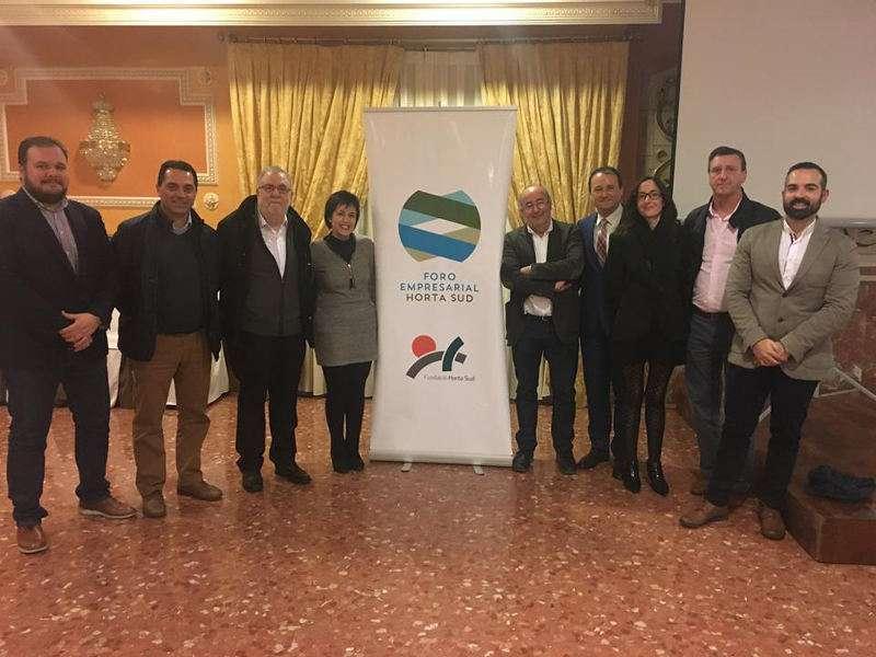 Participantes en el Foro Empresarial de l