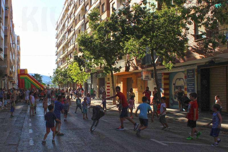Actividades en las fiestas de Sants de la Pedra.