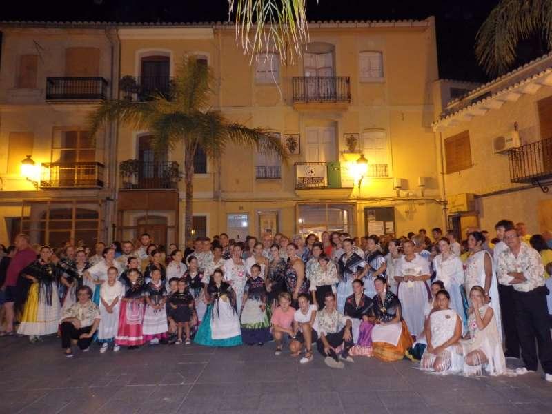 Les Falleres Majors de Bétera a les Festes del municipi d