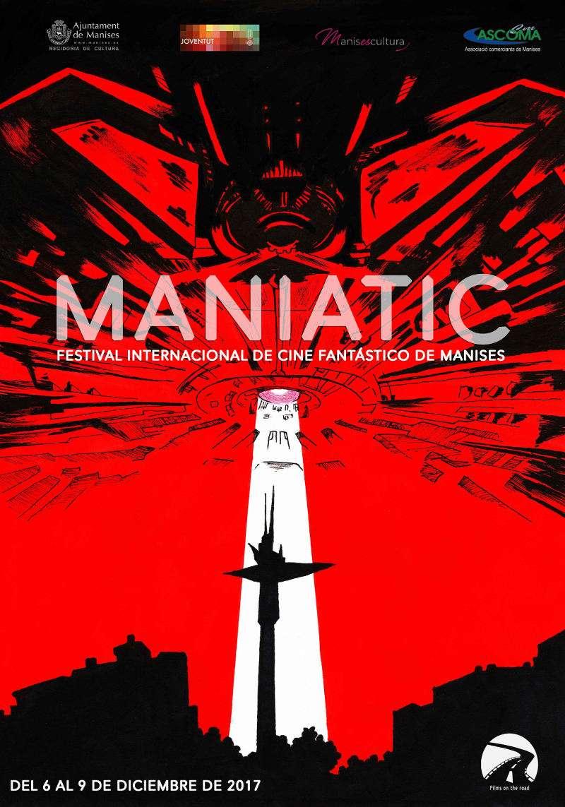 I edición de su Festival internacional de cine fantástico Maniatic. EPDA