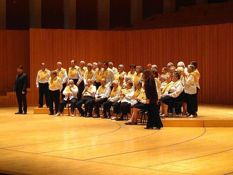 Un momento del concierto. FOTO EPDA
