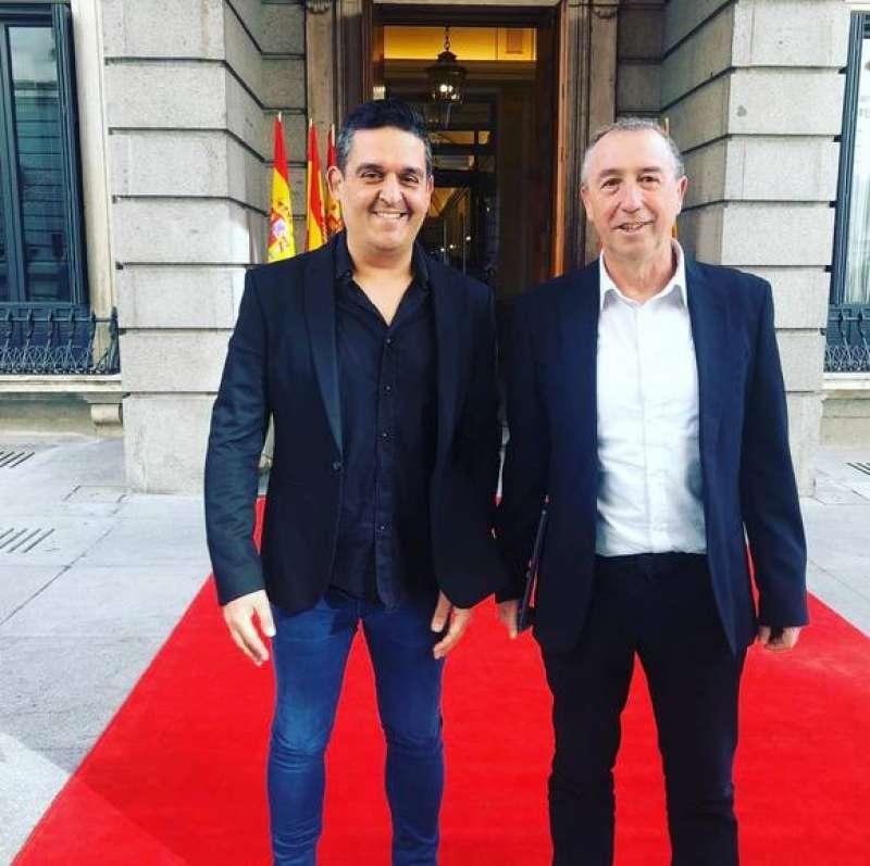 Carles Mulet y Joan Baldoví