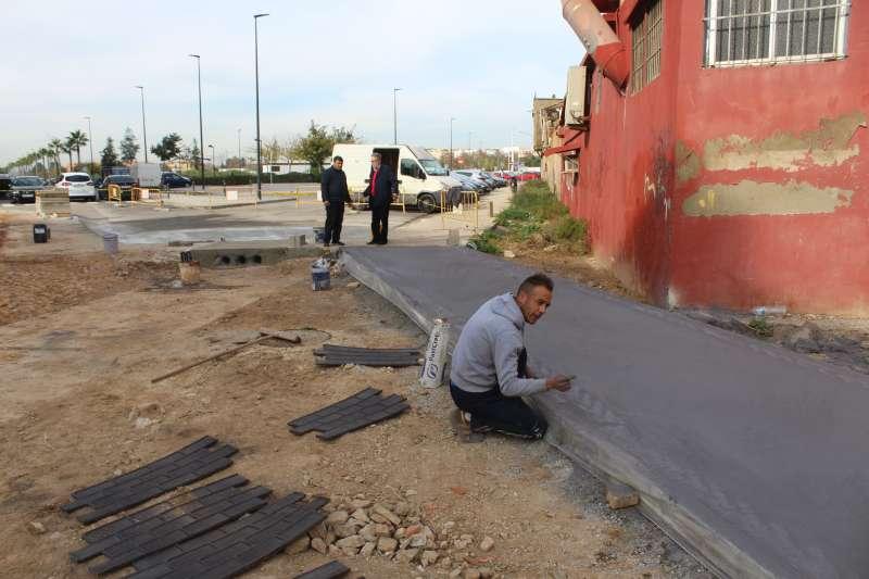 Obras entre Albal y Catarroja