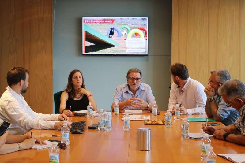 Rueda de prensa para explicar los proyectos de las IFS