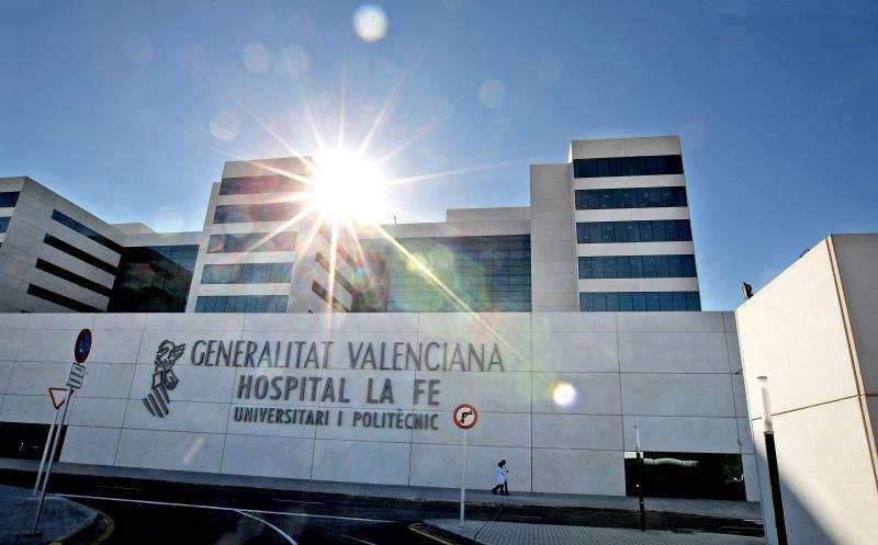 El Hospital La Fe de València. EFE/Archivo