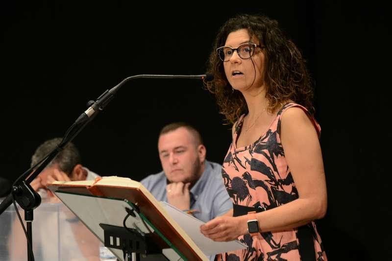 La alcaldesa de Paiporta, Isabel Martí. EPDA