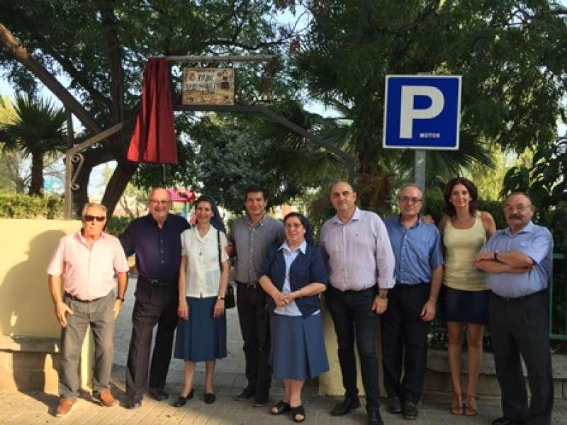 Inauguración de la nueva denominación del parque. EPDA