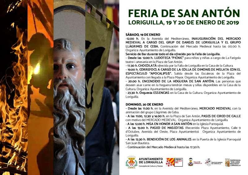 Cartel fiesta San Antón