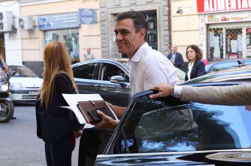 El presidente del Gobierno en funciones, Pedro Sánchez, en una imagen reciente. EFE