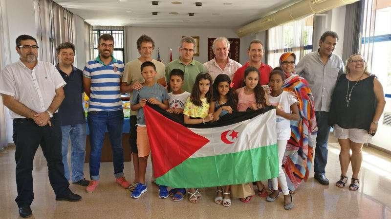 Xiquets saharauis en l