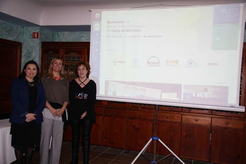 Presentación de la nueva web de Asecam. EPDA