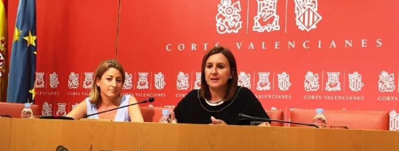 La portavoz adjunta del Grupo Popular en Les Corts, Mª José Català.