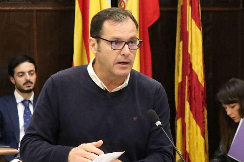 Sergio Muniesa, portavoz del PP de Sagunt. EPDA