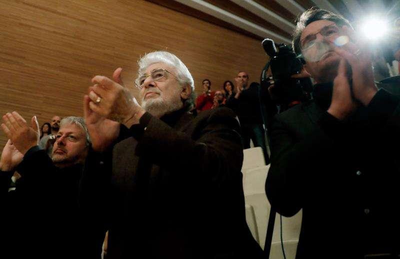 El cantante Plácido Domingo en el Palau de Les Arts. EFE/Archivo
