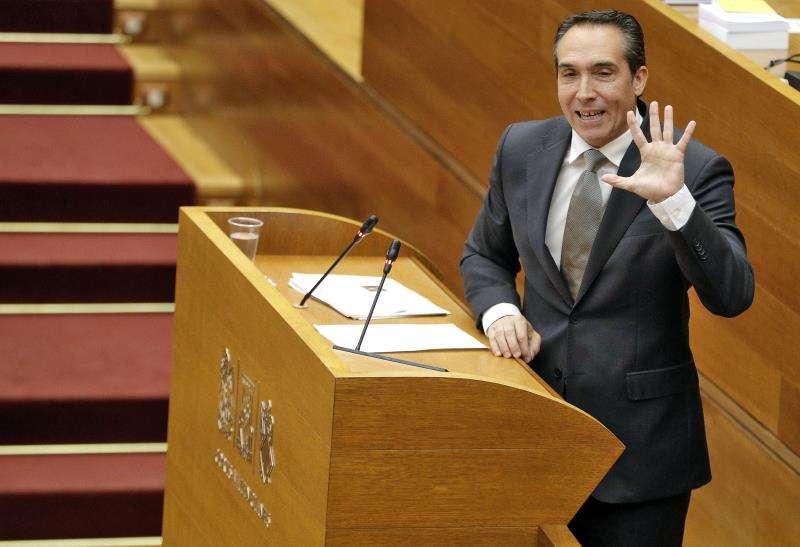 El vicesecretario general del Partido Popular de la Comunitat Valenciana y portavoz de Economía en les Corts, Rubén Ibáñez. EFE/Archivo