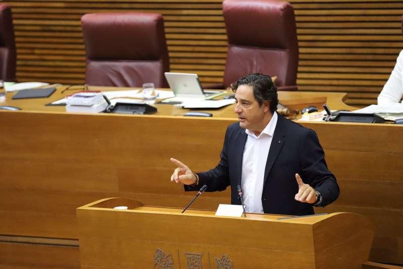 El diputado de Ciudadanos en Les Corts valencianas, Emigdio Tormo. EPDA