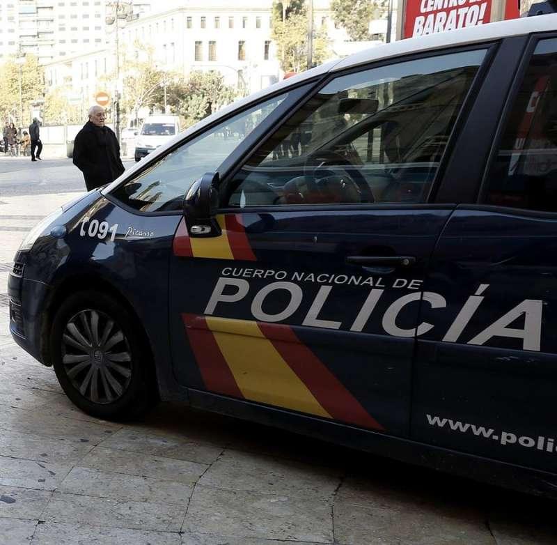 Coche policía./PDA