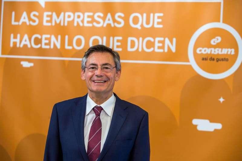 El director general de Consum, Juan Luis Durich. EFE/Gustavo Grillo/Archivo