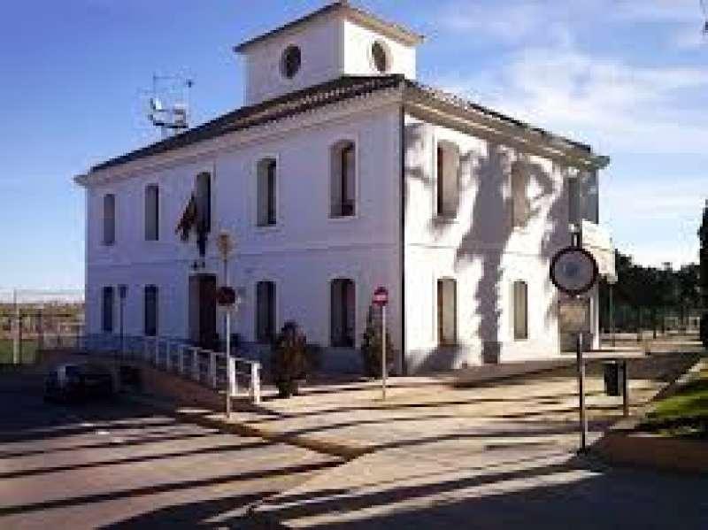 Edificio del Ayuntamiento de Rocafort. EPDA