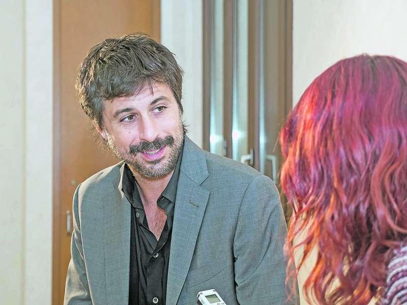 Hugo Silva, entrevistado por Carmela Sánchez.  EPDA