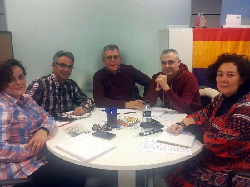 Reunió amb membres del Comité d