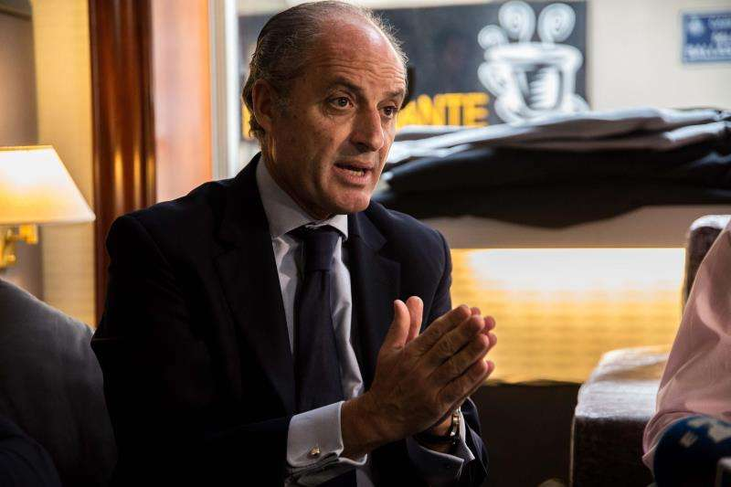El expresident de la Generalitat Francisco Camps. EFE