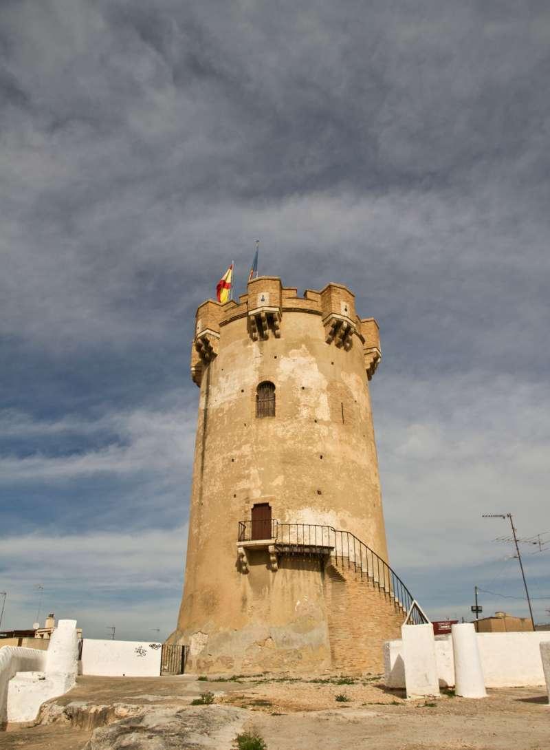 La Torre de Paterna. FOTO AYTO PATERNA