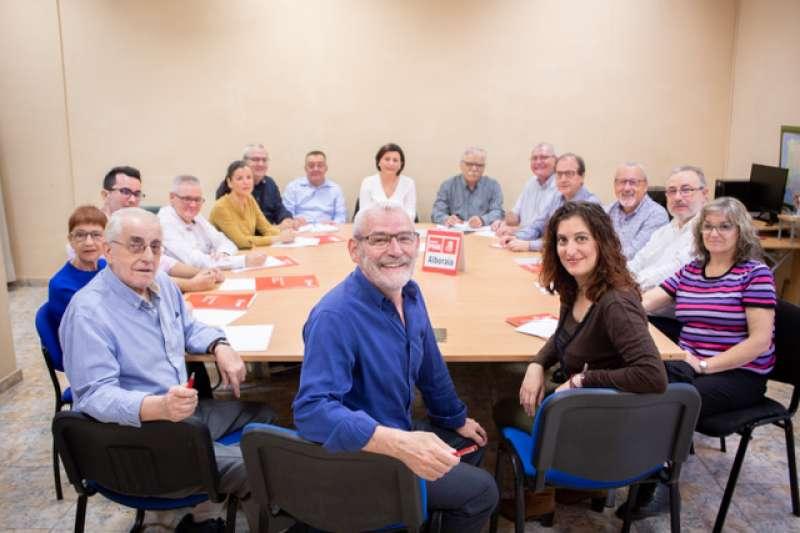 Ejecutiva del PSPV-PSOE de Alboraia