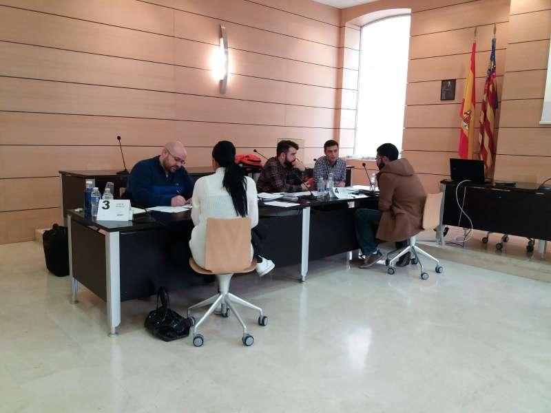 Entrevistas de trabajo en el ayuntamiento de Alfafar. EPDA