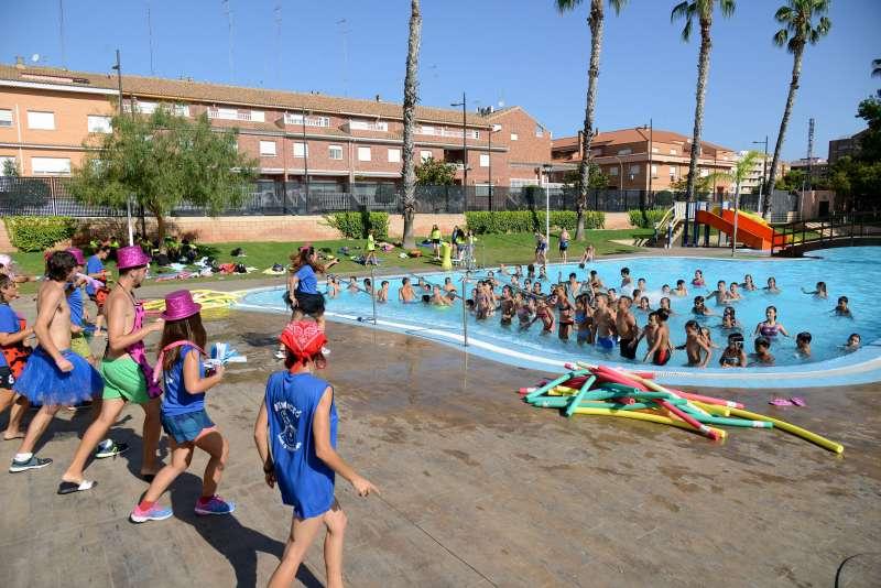 Activitats a la piscina