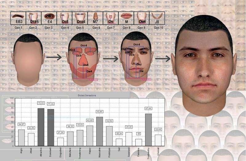 Generación de un actor virtual, en una imagen de la UPV./efe