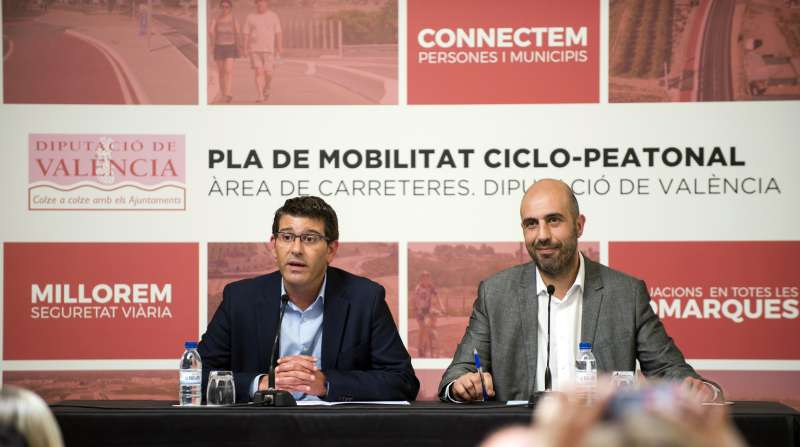 La Diputació inverteix 7,2 milions d´euros en la millora de les carreteres del Camp de Túria