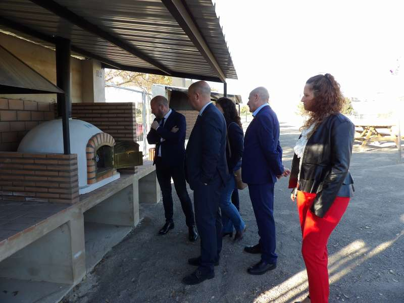 Visita del presidente de la Diputació a Massamagrell. EPDA