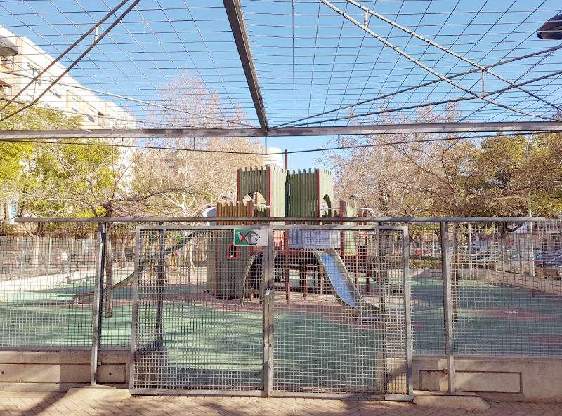 Plaça de les Corts Valencianes de Aldaia. EPDA