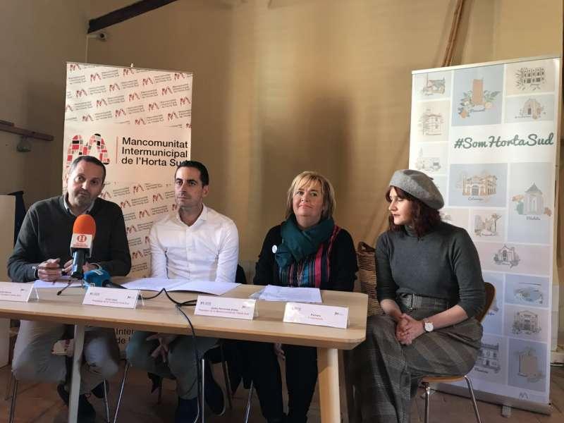 La presentación de la campaña #SómHortaSud