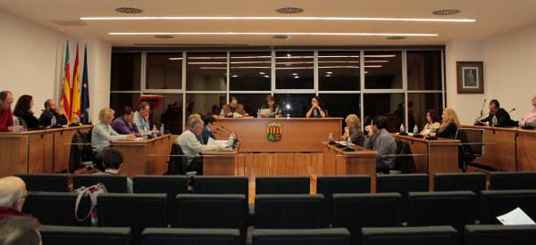 Sala de Plenos del Ayuntamiento de Picassent. //EPDA