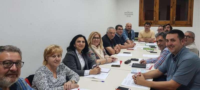 Ejecutiva comarcal del PSPV-PSOE