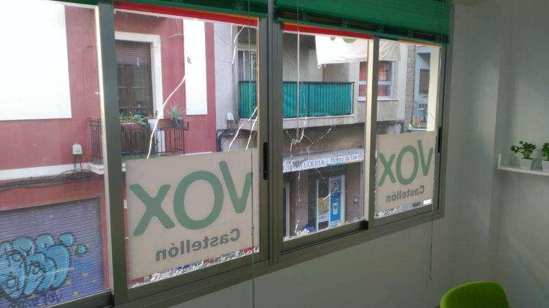 Sede de Vox en Castelló. EPDA