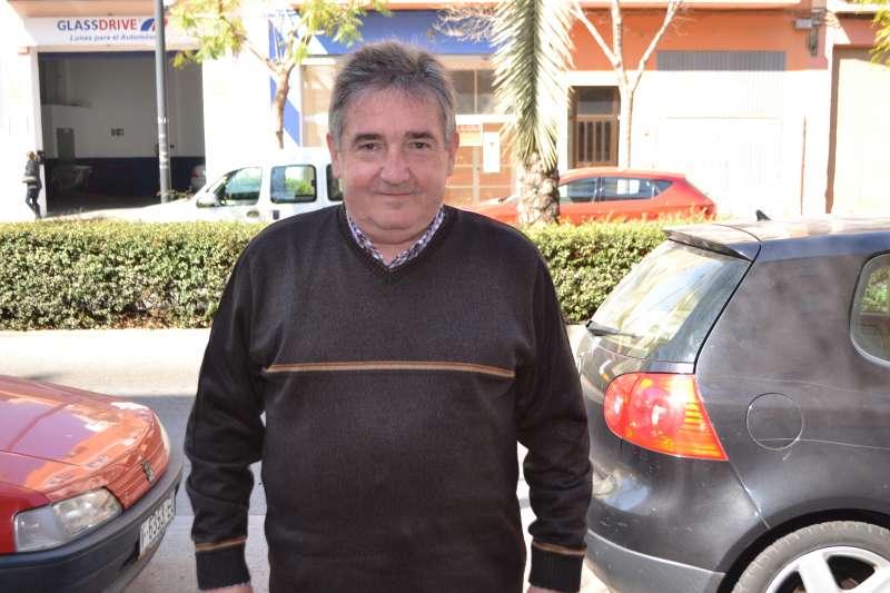 Vicente Peris, concejal del PSPV-PSOE de Canet. FOTO EPDA