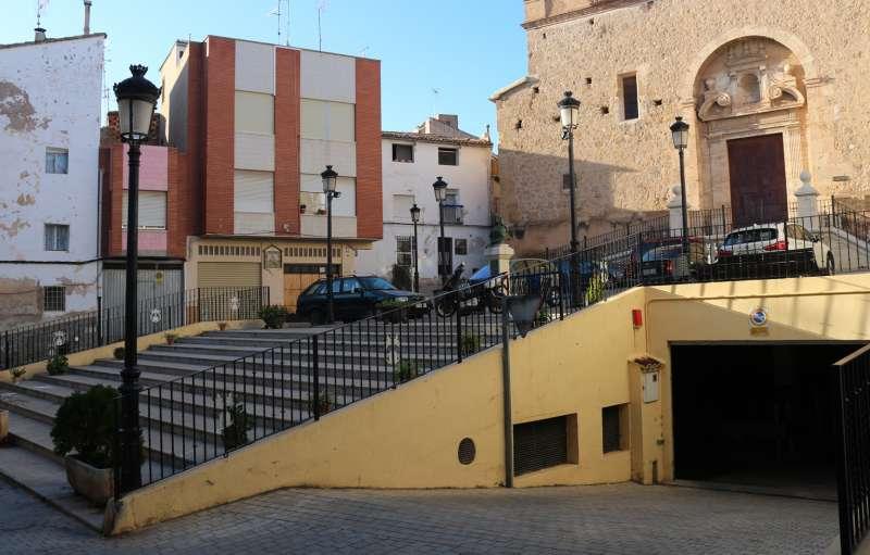 La plaza de la Monjas pasó la noche sin luz